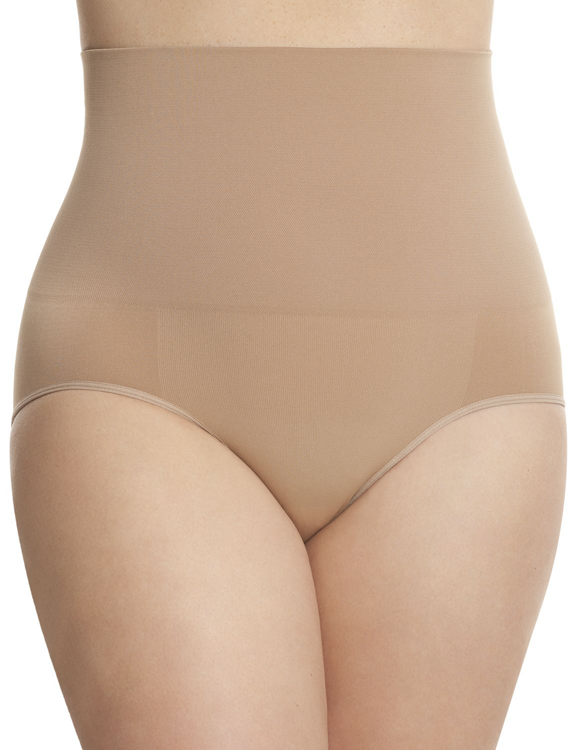 Lane Bryant Womens Seamless Shapewear Brief By Shape By Cacique 18/20 Cafe Mocha