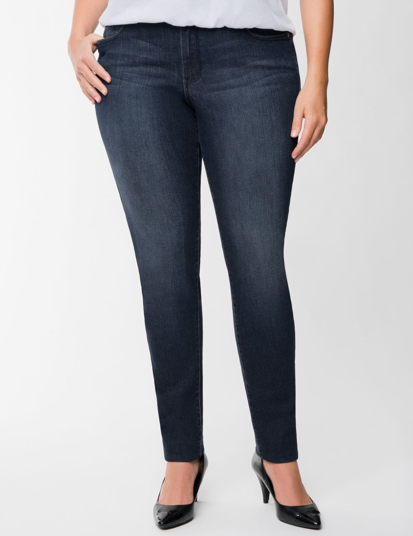 Genius Fit Jeans - Plus Size No-Stretch Denim | Lane Bryant