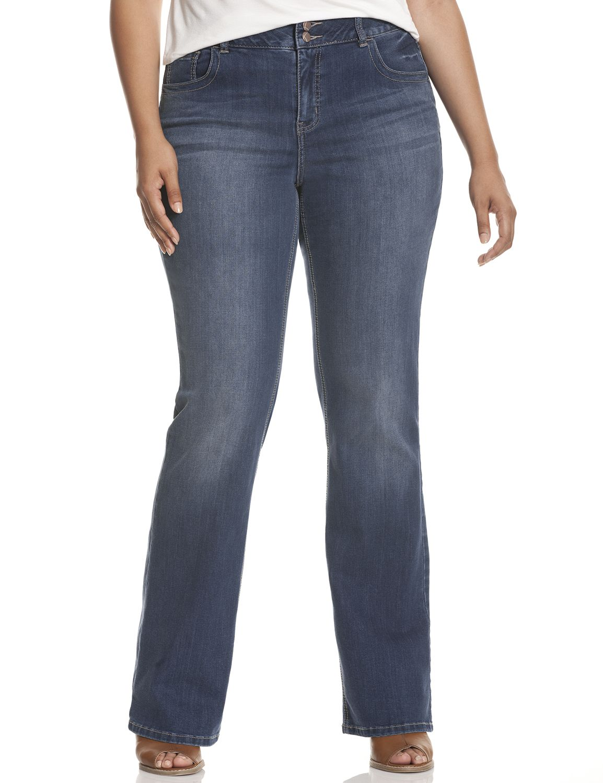 Plus Size Petite Jeans Denim &amp Capris | Lane Bryant