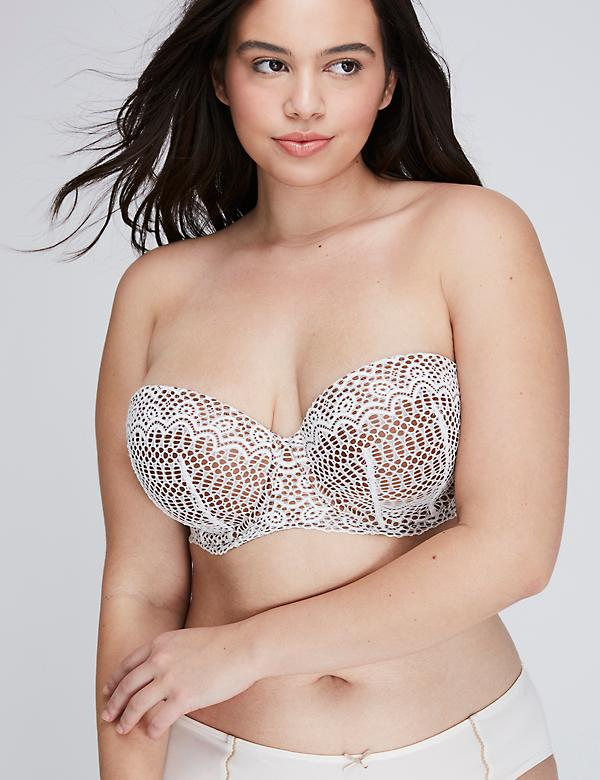 b32b4e62cfda7 Strapless and Multi Way Plus Size Bras