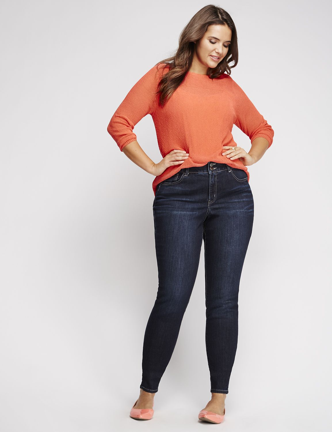 Plus Size Tall Jeans, Denim & Capris | Lane Bryant