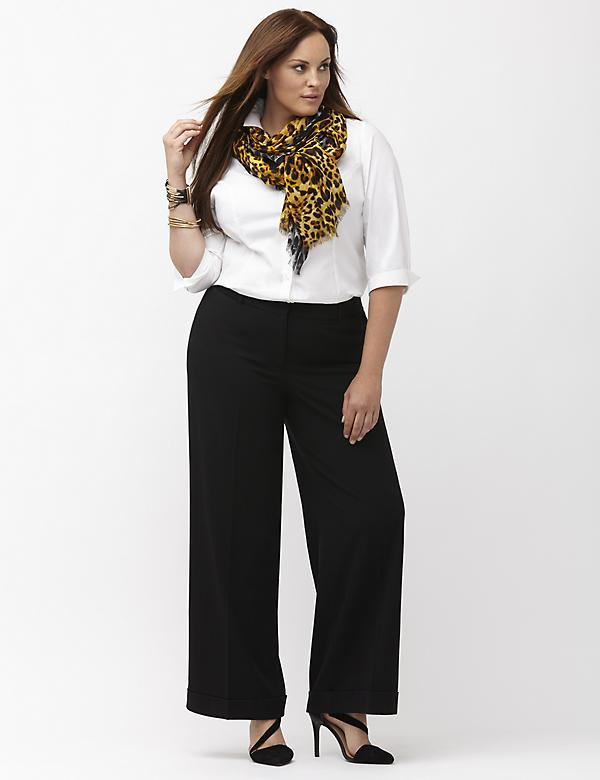 Women's Plus Size Wide Leg Pants | Lane Bryant