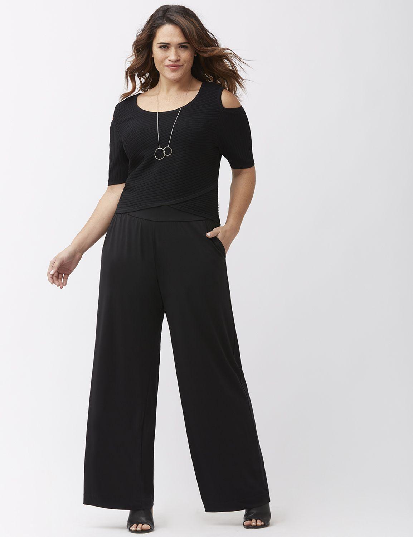 Women's Plus Size Wide Leg Pants | Lane Bryant