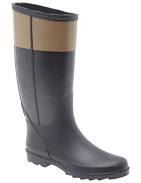 Wide width wide calf rain boot by Lane Bryant | Lane Bryant