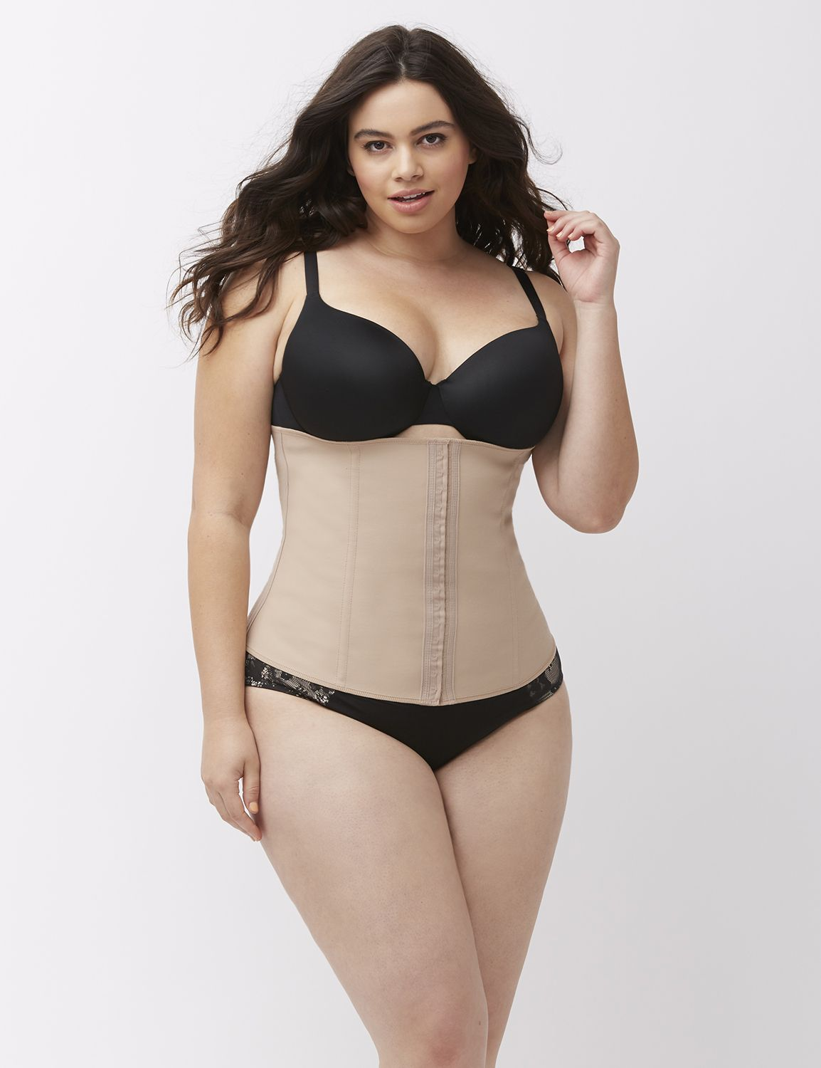 Online Exclusive Lane Bryant Sexi Lingerie Perfect Waist Contouring Cincher By Squeem