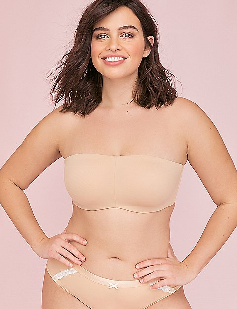 Strapless and Multi Way Plus Size Bras | Lane Bryant