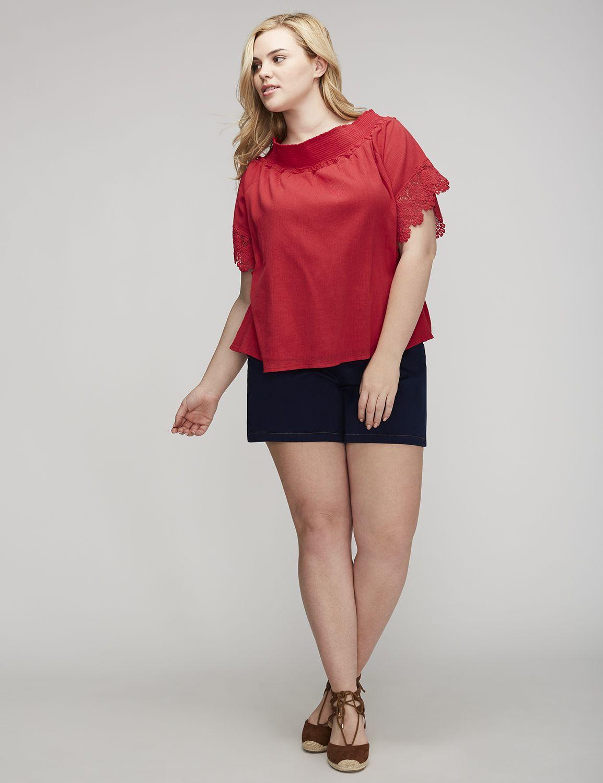 Bluză de damă LANE BRYANT Gauze, Plus size