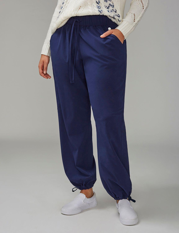 Lane Bryant Womens Livi Active Woven Pant 18/20 New Navy