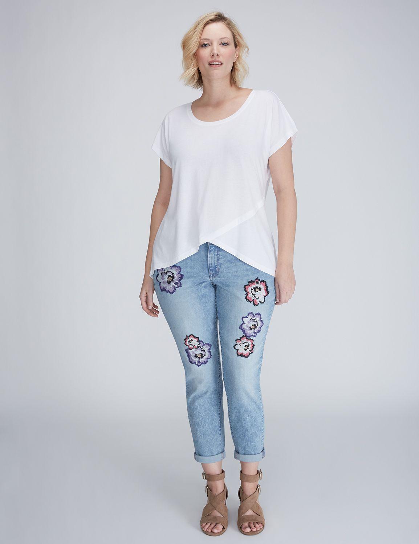 Plus Size Boyfriend Jeans | Lane Bryant