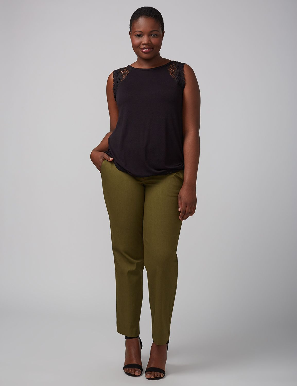 Tricou de damă LANE BRYANT Crochet, Plus size