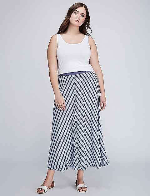 Plus Size Skirts - Plus Size Midi & Maxi Skirts   Lane Bryant