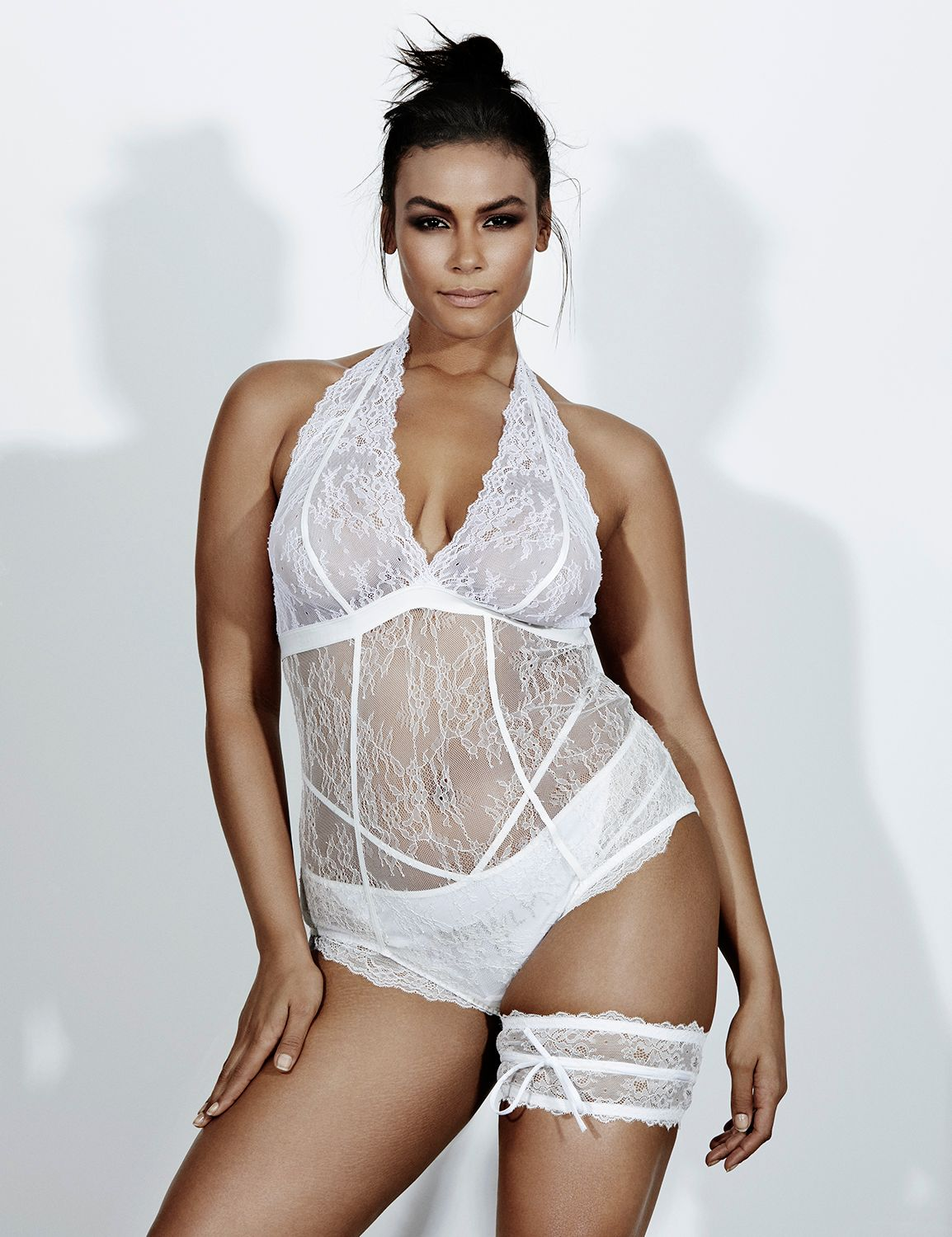 Lace Unlined Bodysuit By Sophie Theallet