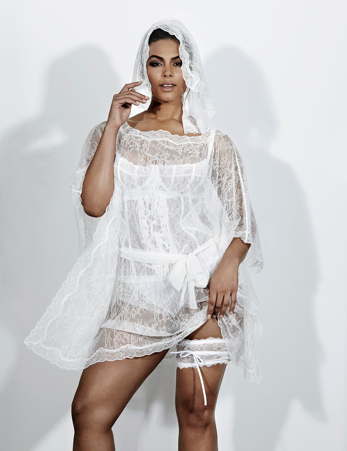 Lace Caftan By Sophie Theallet
