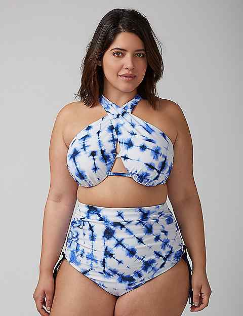 Plus Size Swimwear Underwire Bra Support