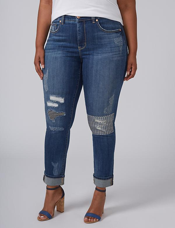 Plus Size Skinny Jeans & Womens Slim Fit Denim | Lane Bryant