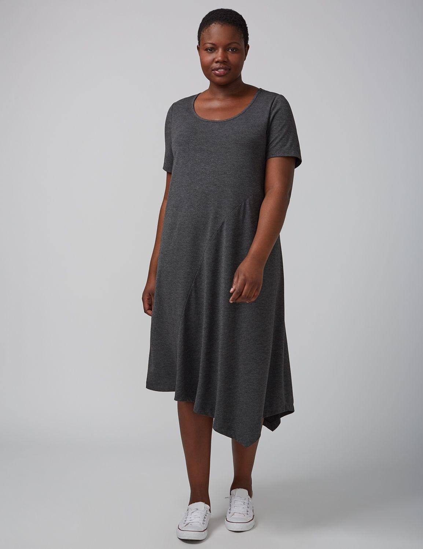 Rochie midi LANE BRYANT T-Shirt, Plus size