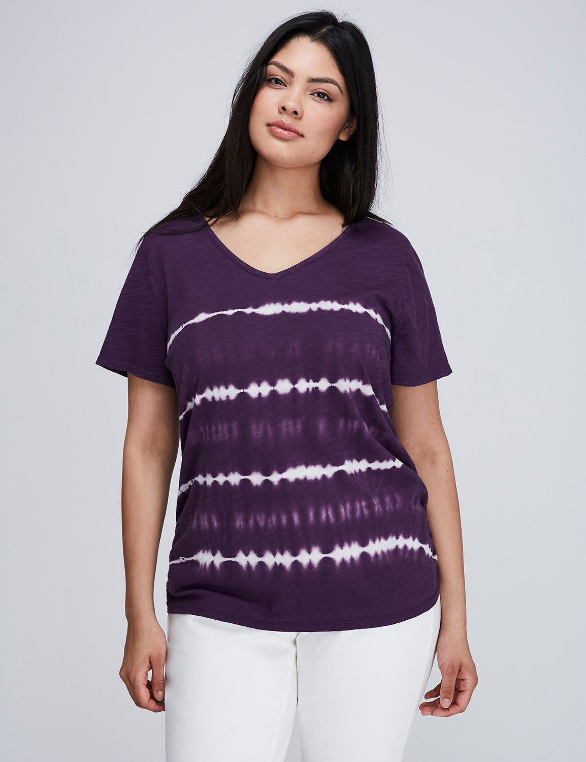 Tricou de damă LANE BRYANT Striped
