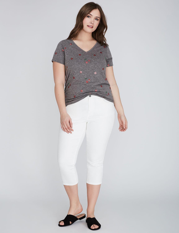 Tricou de damă LANE BRYANT Side, Plus size
