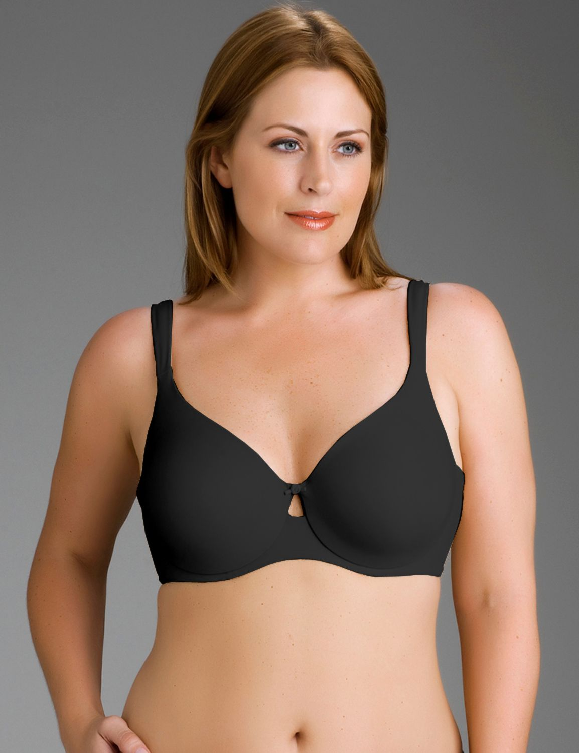 Lane Bryant Womens Full Coverage Convertible Bra 46DDD Black