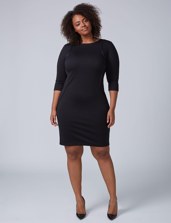 Lane Bryant Women 39 S Sheath Dress 18 Black Shop At Ebates