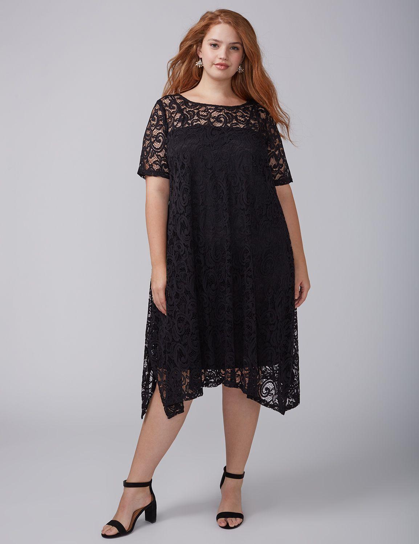 Black lace dresses size 16