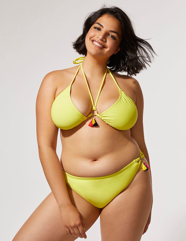 Fast Lane Pride Tassel Strappy Swim Bikini