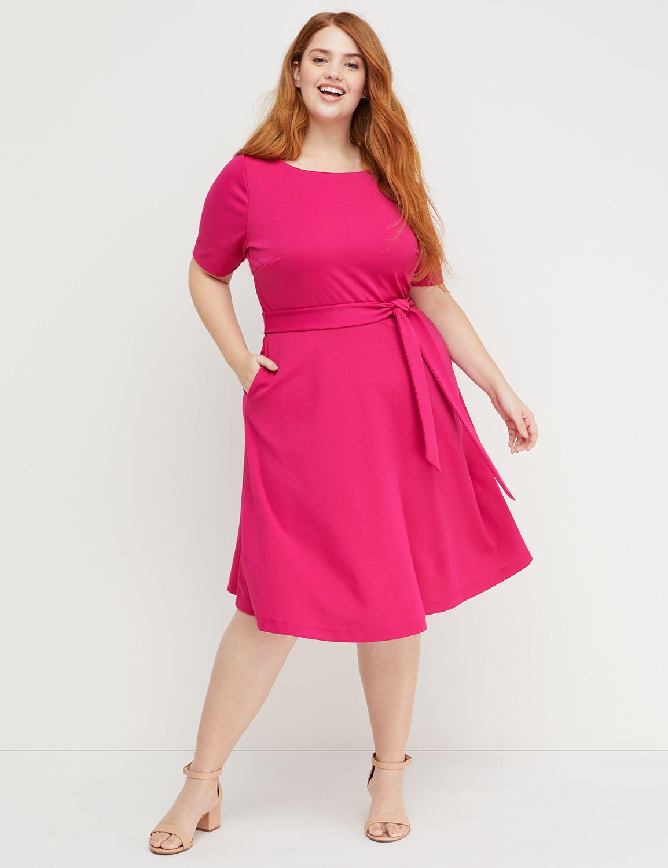 d20ec49c79aa Beauticurve Fit & Flare Dress | Lane Bryant