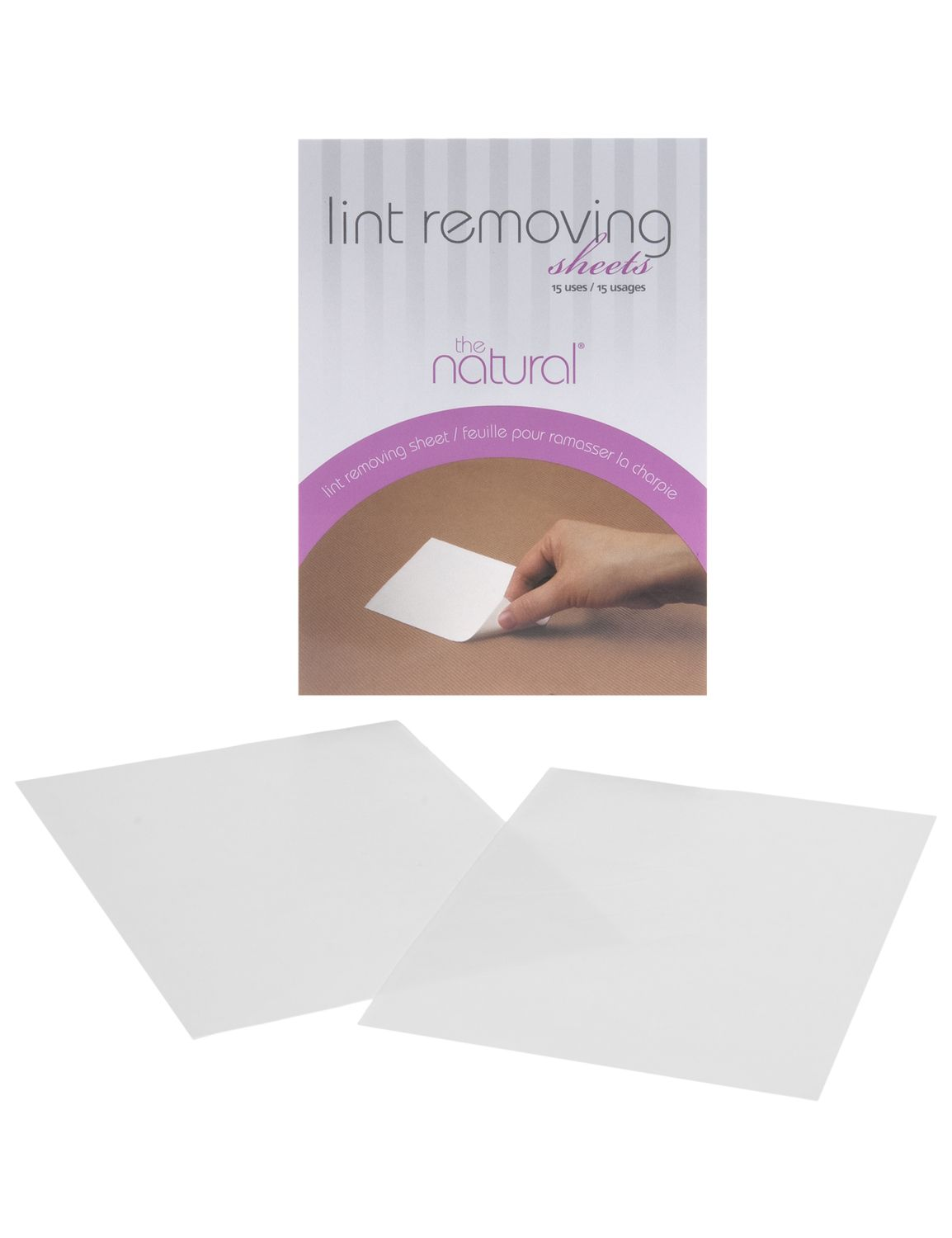 Lane Bryant Womens Lint Removing Sheets ONESZ White