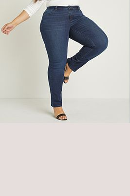7816ab837f4 New Arrivals Plus Size Denim Collection