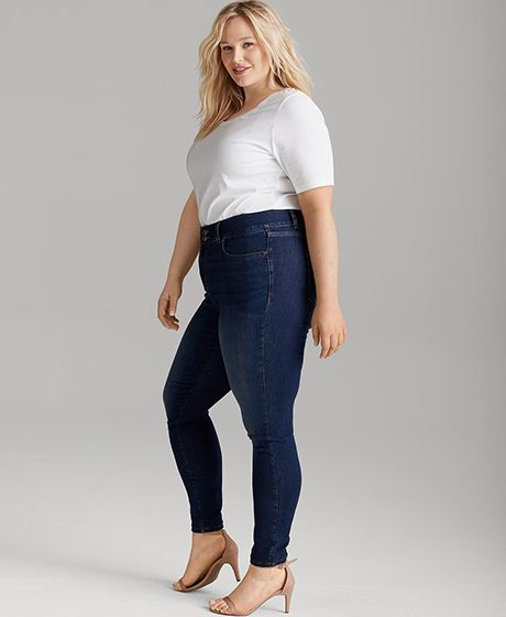 Secret slimming jeans photo