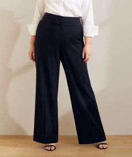 b75e0335b64f7 Plus Size And Wide Leg Pants