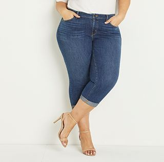5895812bb4c Plus Size Jeans: Skinny, Bootcut & More | Lane Bryant