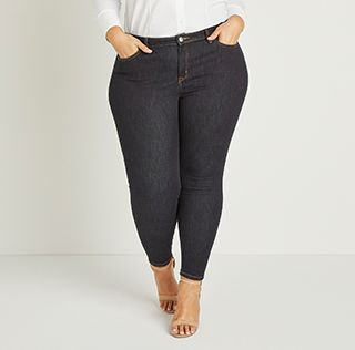 d0ae45e8bbee8 Plus Size Jeans | Skinny, Bootcut, Jeggings & More | Lane Bryant
