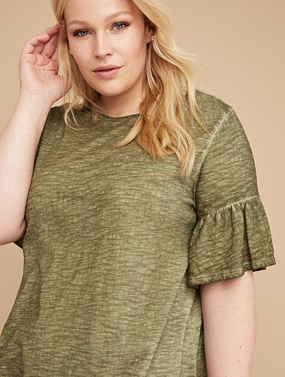 Plus size off the shoulder tee shop tees and tanks