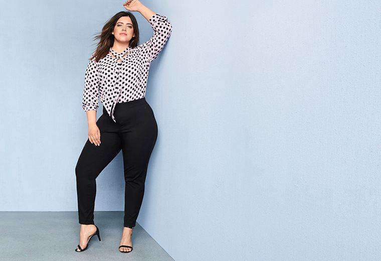 Sexy jeans for plus size women — 14