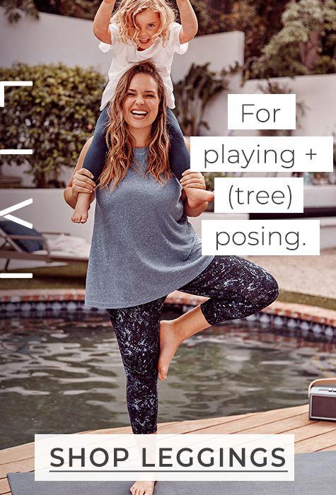 LIVI Leggings. For playing + (tree) posing.
