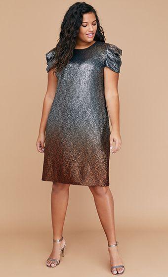 Plus Size Dresses Black Tie Dye