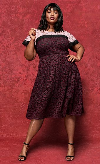 Plus Size Party Cocktail Dresses Lane Bryant