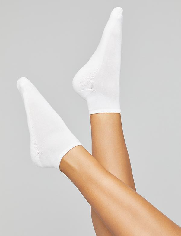 Cushioned ankle sock duo