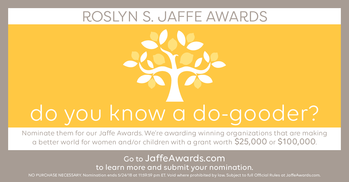 Roslyn S. Jaffe Awards