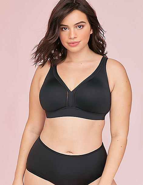 Unlined No-Wire Cooling Bra