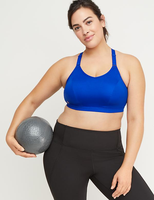 Medium-Impact Wicking Sport Bra - Strappy Back