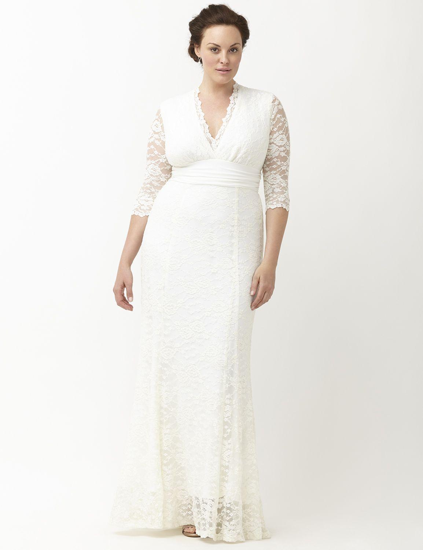 amour lace wedding dresskiyonna | lane bryant