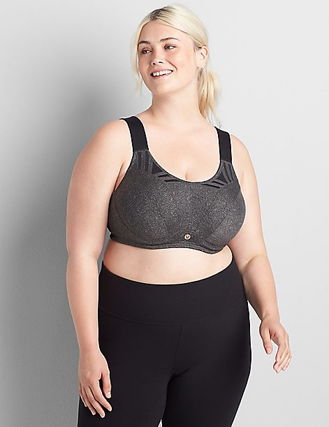 LIVI Active High-Impact Wicking Max Support Sport Bra