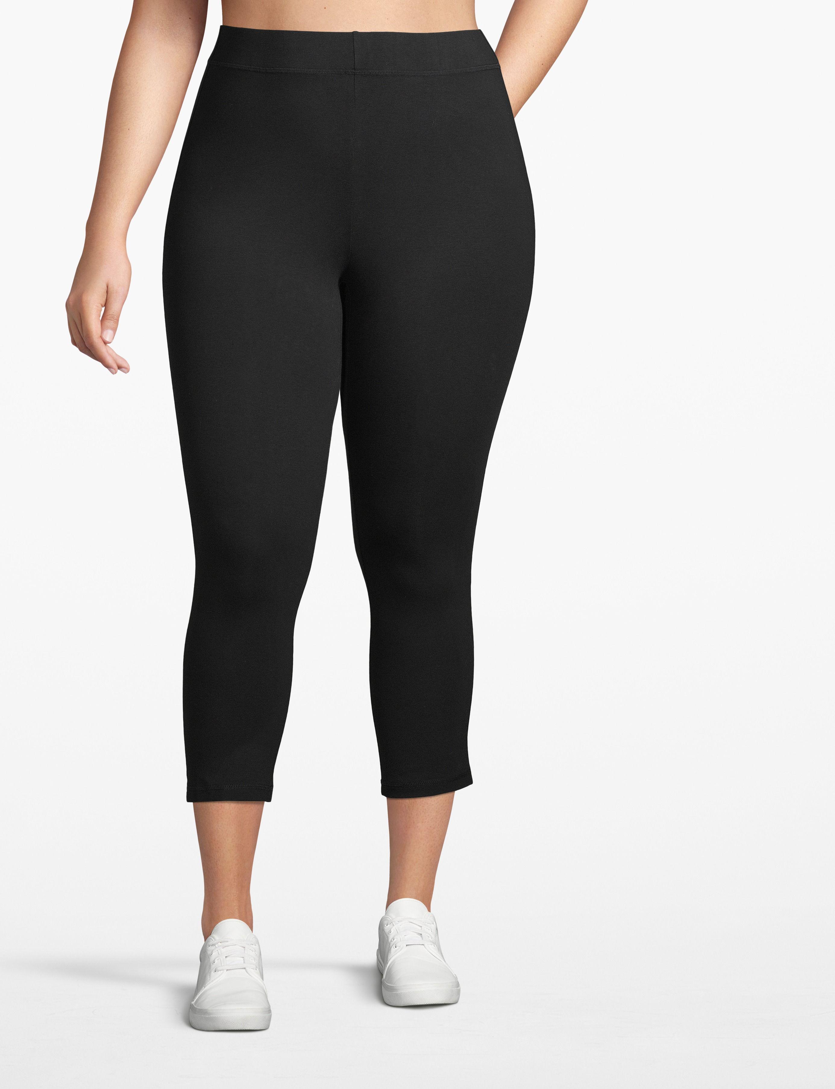 Image of Lane Bryant Women's Active Essential Capri Legging 14/16 Black