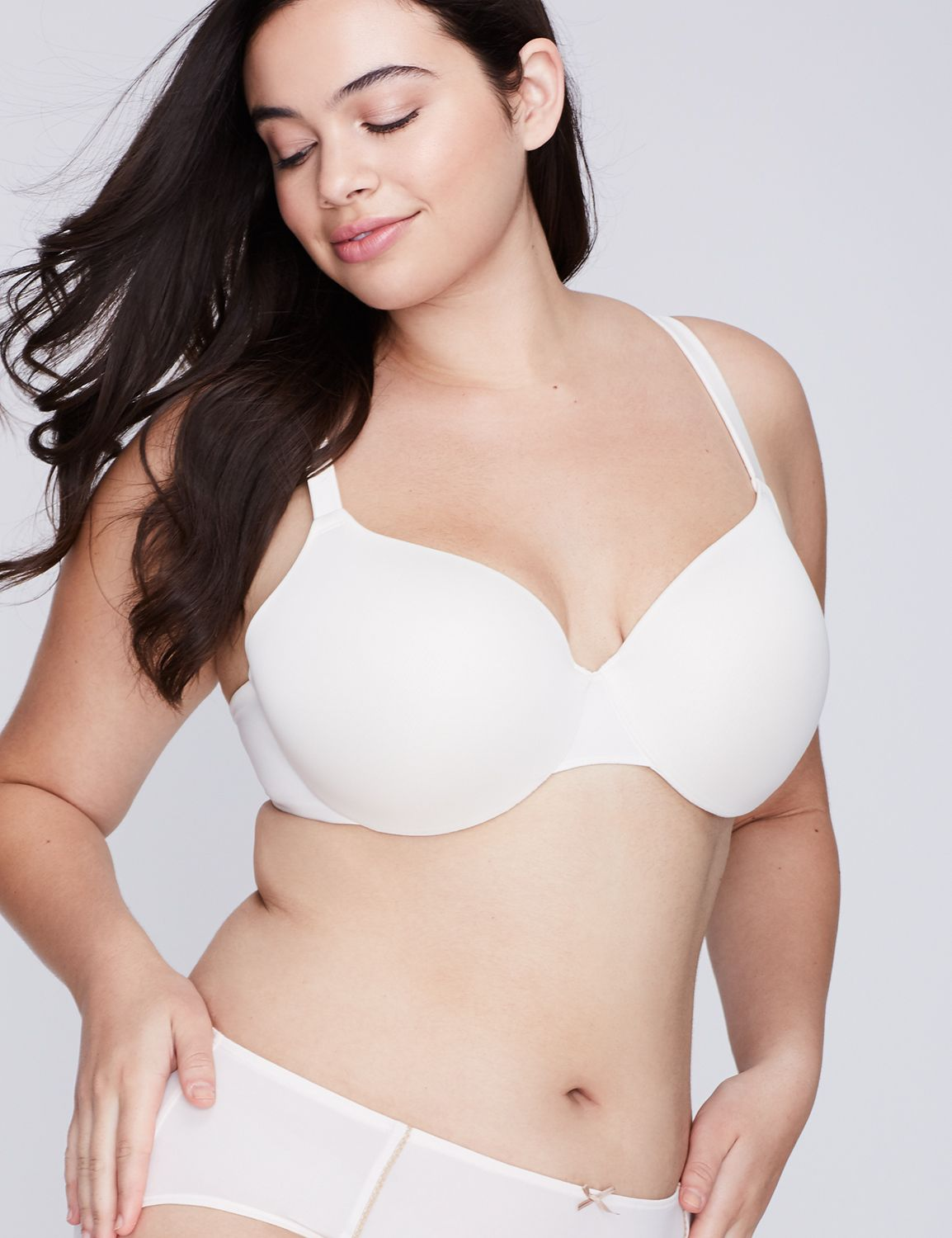 bras,Lane Bryant Women's True Embrace Lightly Lined T-Shirt Bra 44D Sugar