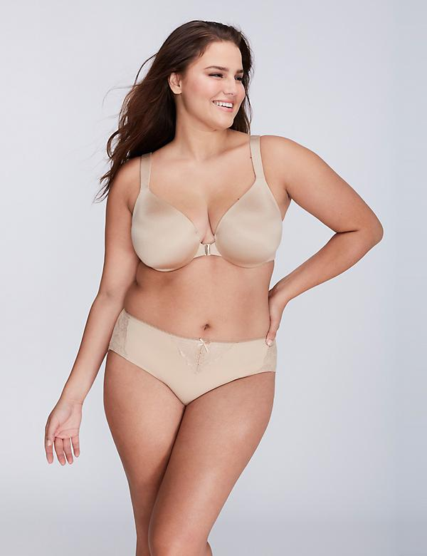 Invisible Backsmoother Front Close Full Coverage Bra