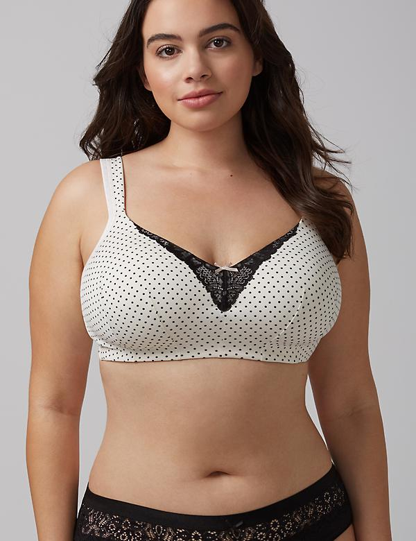 Smooth no-wire bra