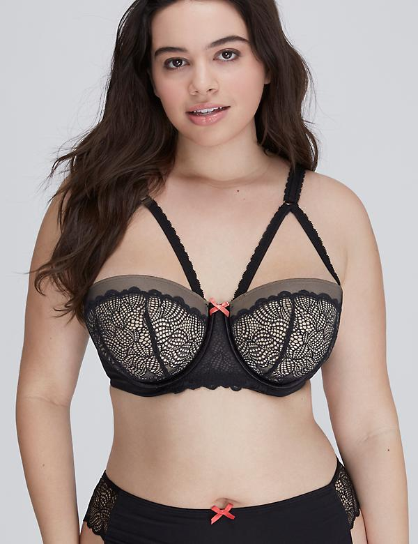 Harness Lightly Lined Balconette Bra