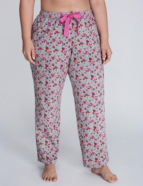 Cotton Sleep Pant with Grosgrain Ribbon Ties